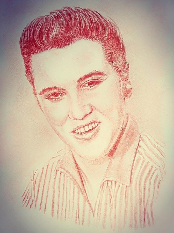 Elvis Presley by JFG